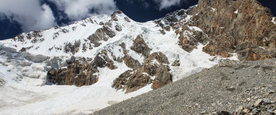 Восхождения в районе хребта Куйлю