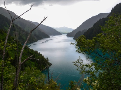 Trek to Sary Chelek Lake