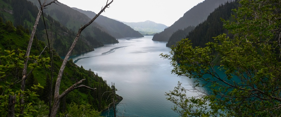 Трек к озеру Сары-Челек