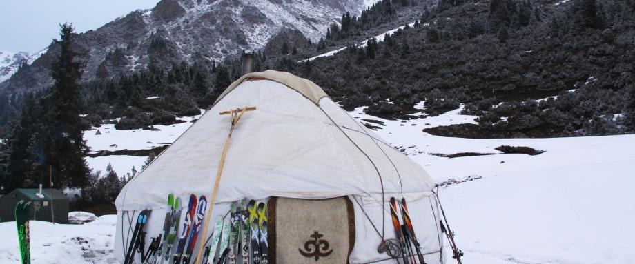 Скитур в районе Иссык-Куля + размещение в юрточных лагерях