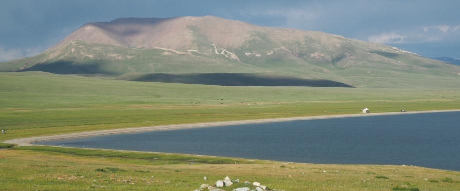 Трек к озеру Сон-Куль