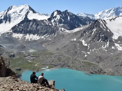 Ala Kul Lake trekking and ascent